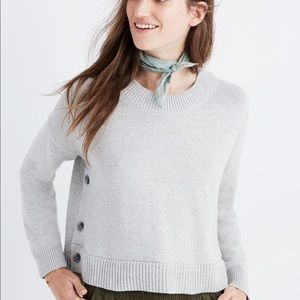BNWT MADEWELL SPRING STYLE COTTON SWEATER SMALL